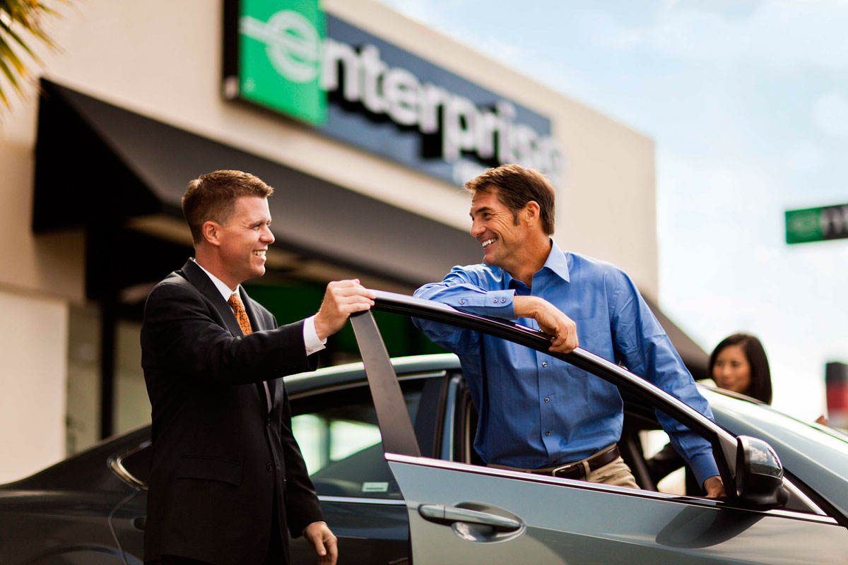 Enterprise Car Ad Delaware Coastal Airport Sussex County
